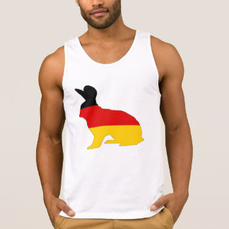 German Flag - Rabbit Singlet