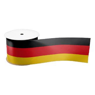 German Flag Satin Ribbon