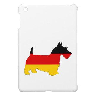 German Flag - Scottish terrier iPad Mini Case