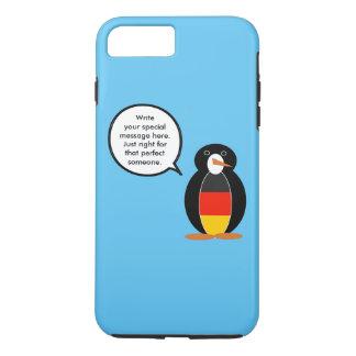 German Flag Talking Penguin iPhone 7 Plus Case
