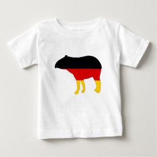 German Flag - Tapir Baby T-Shirt