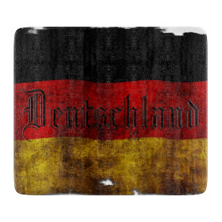 German flag - Vintag Cutting Board