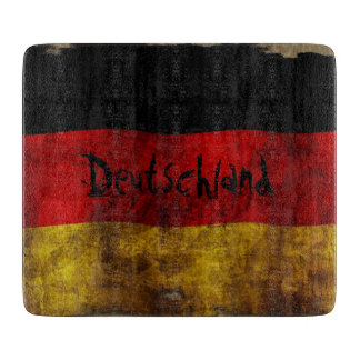 German flag - Vintage… Cutting Board