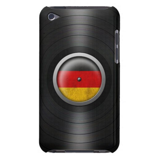 German Flag Vinyl Record Album Graphic Barely There iPod Cover