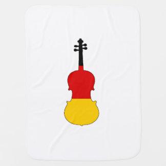 German Flag - Viola Baby Blanket