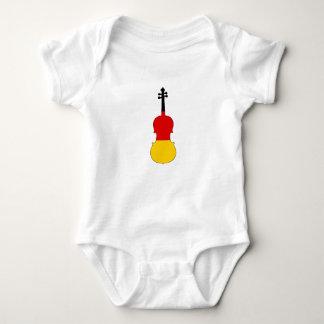 German Flag - Viola Baby Bodysuit