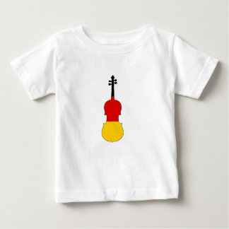 German Flag - Viola Baby T-Shirt