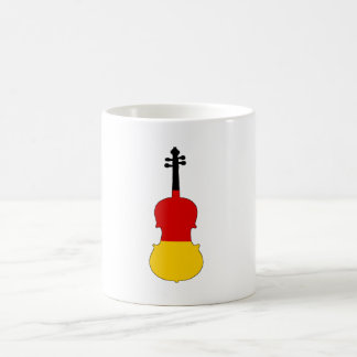 German Flag - Viola Coffee Mug