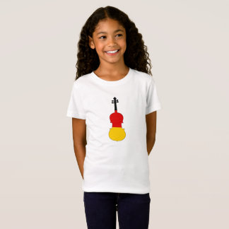 German Flag - Viola T-Shirt