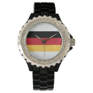 German Flag Womens Watch