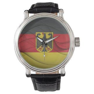 German Flag Wristwatches
