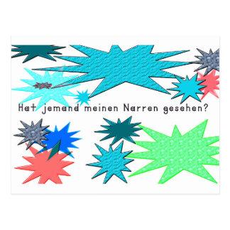 German -Fool Postcard
