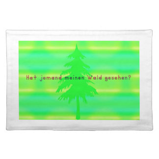 German -Forest Place Mats