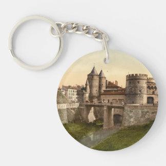 German Gate, Metz, Lorraine, France Key Ring