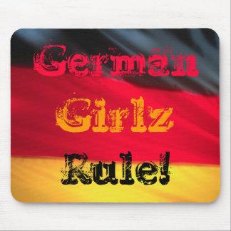 German Girls Girlz Rule Mouse Pad