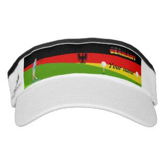 German golfer visor