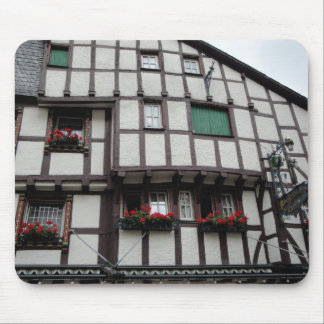 German Half-Timbered House Mouse Pad