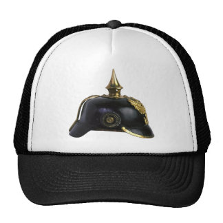 German helmet mesh hat