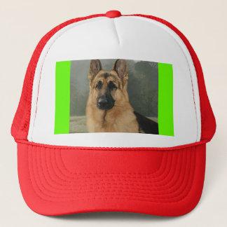 german, I Love German Shepards! Trucker Hat