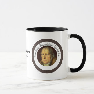 German Idealist Philosopher Georg Hegel Mug