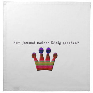 German -King Napkin
