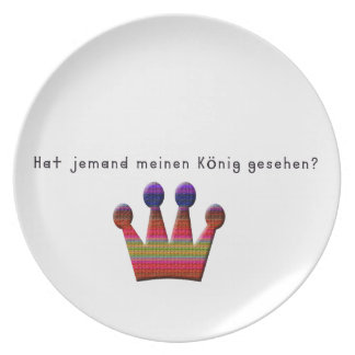 German -King Plate