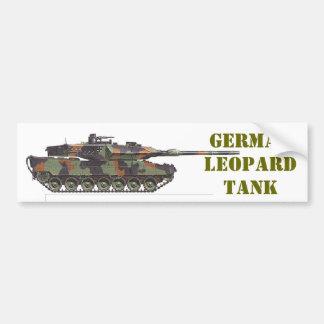GERMAN LEOPARD TANK. BUMPER STICKER