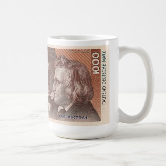 German Marks Coffee Mug
