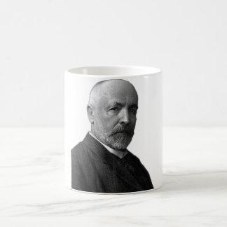 German Mathematician Georg Cantor Coffee Mug