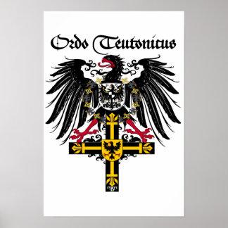 German medal emperor eagle poster