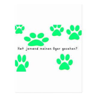 German -Ogre Postcard