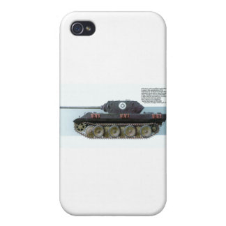 GERMAN PANTHER TANK iPhone 4 COVERS