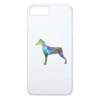 German Pinscher 01 in watercolor iPhone 8 Plus/7 Plus Case