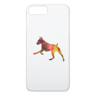 German Pinscher 02 in watercolor iPhone 8 Plus/7 Plus Case