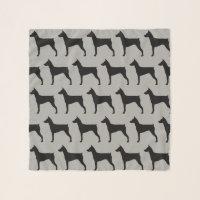 German Pinscher Silhouettes Pattern