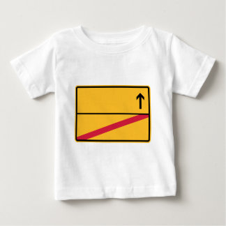 German place name sign, local exit baby T-Shirt