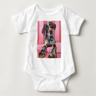 GERMAN POINTER BABY BODYSUIT