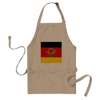 German Post Minister, Germany flag Apron