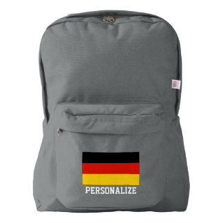 German pride flag of Germany personalized Backpack