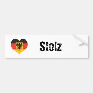 German Pride(stolz) bumper sticker
