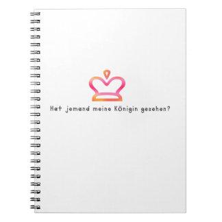 German -Queen Notebooks