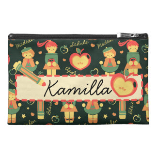 German Schoolgirls Pattern & Name Bag