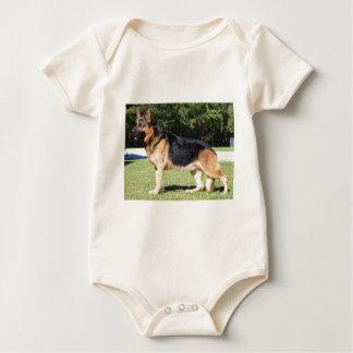 german shep baby bodysuit