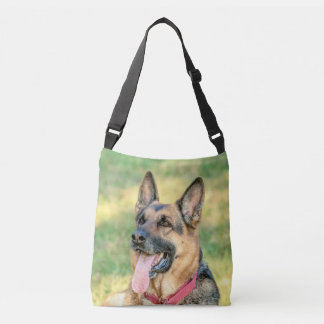 German Shepard Crossbody Bag