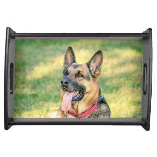 German Shepard Serving Tray