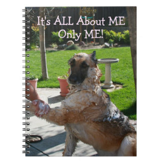 German Shepherd All About Me Notebook