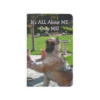 German Shepherd All About Me Pocket Journal