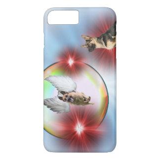 German Shepherd Angel Flying iPhone 7 Plus Case