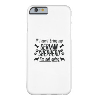 German Shepherd Barely There iPhone 6 Case