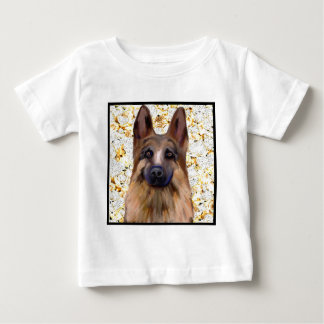 German Shepherd Bling Baby T-Shirt